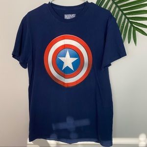 Marvel Captain America T shirt men's medium